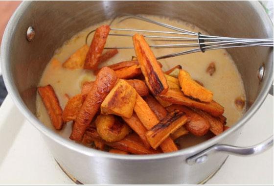 zanahoria y patata